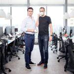 Mate Pen e Florian Hagenbuch, fundadores da Loft (Foto: Arthur Nobre)